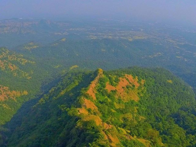 Mahuli Fort Trek Route