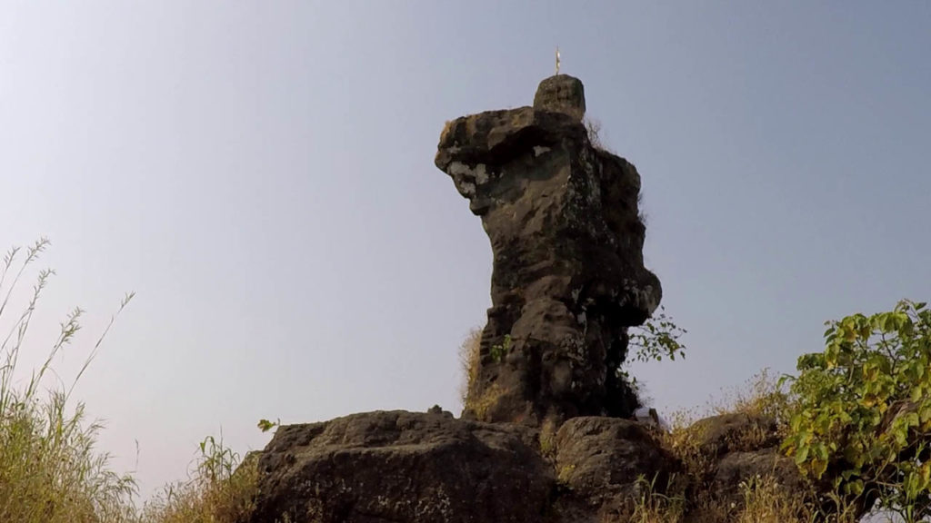 man shaped pinnacle - kohoj fort
